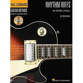 MS Hal Leonard Guitar Method - Rhythm Riffs Noty na kytaru