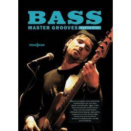 Muzikus Bass Master Grooves - kniha s CD - Martin Štec Noty na baskytaru