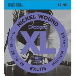 D'Addario EXL115 Ostatní hudebniny