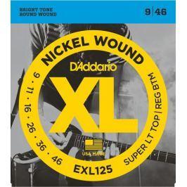 D'Addario EXL125 Tvrdost .009