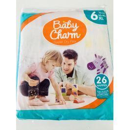 Ontex Turnov Baby Charm Super Dry Flex vel.6 Extra Large