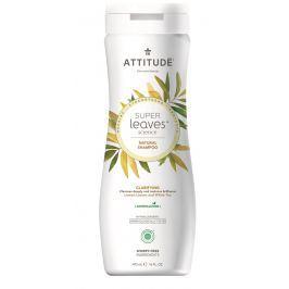 Přírodní šampón ATTITUDE Super leaves s detoxikačním účinkem - rozjasňující pro normální a mastné vlasy 473 ml