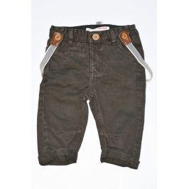 Minoti COOL 9 Kalhoty chlapecké se šlemi hnědá 98/104
