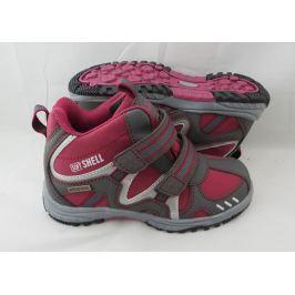 Bugga B079 obuv softshell červená 34