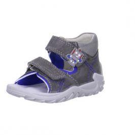 Superfit 6-00011-07 sandály FLOW šedá 22