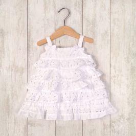 Minoti LOVELY 7 šaty letní a kalhotky bílá 68/74