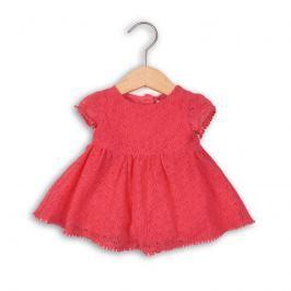 Minoti BELLA 3 šaty dívčí fuchsia 62/68