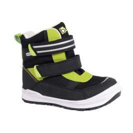 Bugga B082 obuv zimní 2 pásky zelená 26