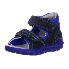 Superfit 0-00035-81 Dětské sandály FLOW modrá 22