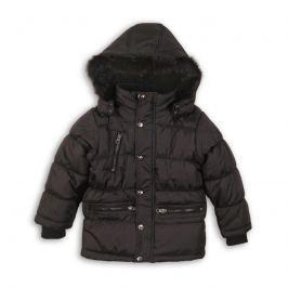 Minoti MONO 3 Kabát chlapecký zimní prošívaný černá 98/104