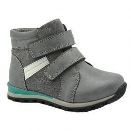 Bugga B00135-09 boty chlapecké zateplené šedá 28