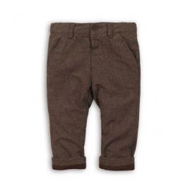Minoti GREAT 8 Kalhoty chlapecké vlněné hnědá 110/116