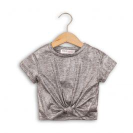 Minoti SHIMMER 1 Tričko dívčí s krátkým rukávem šedá 134/140