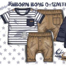 Minoti TIDE 1 Chlapecký set, košile a kalhoty kluk 56/62