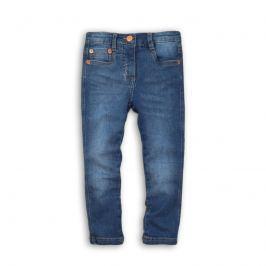 Minoti FRENCH 8 Kalhoty dívčí džínové s elastenem modrá 92/98